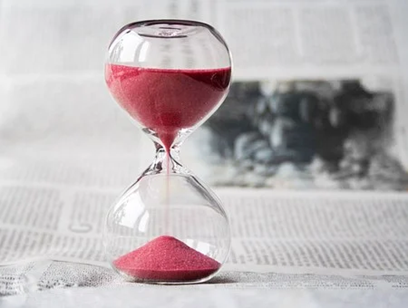 Image of an hourglass - How long does a CICA claim take?